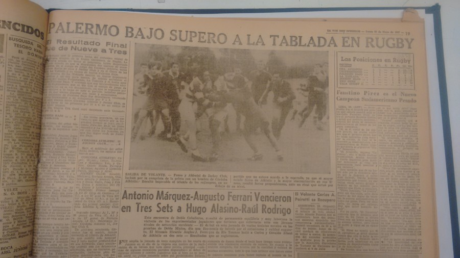 1967 PALERMO BAJO VS TABLADA